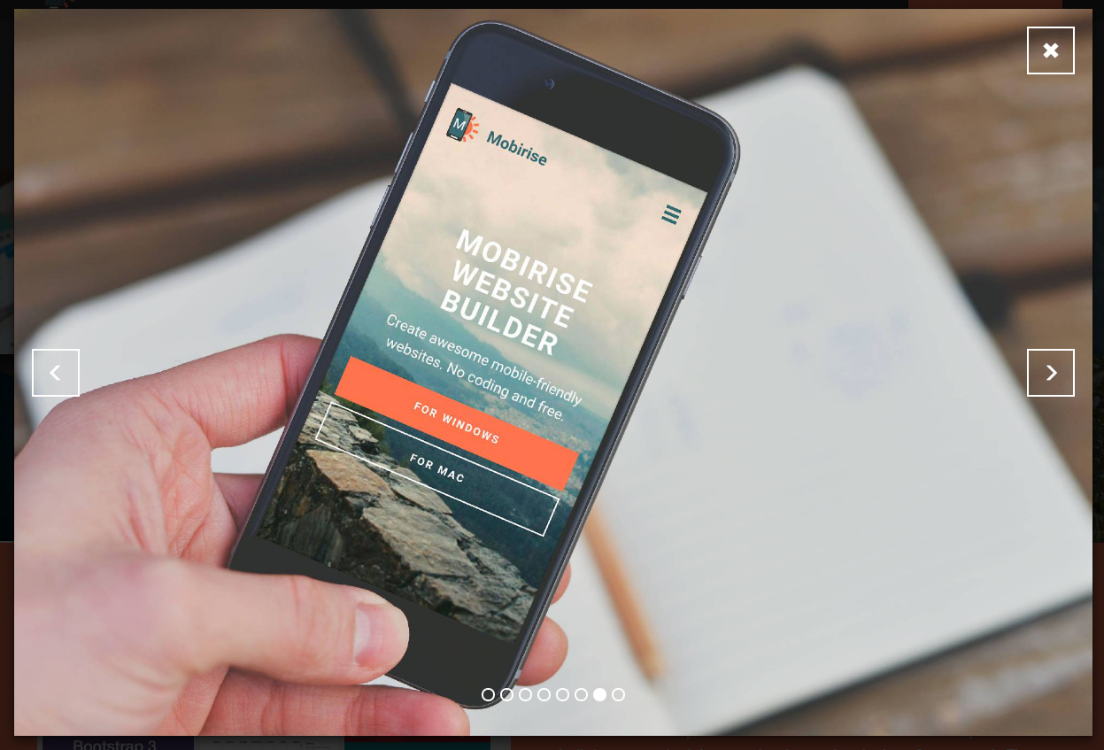 Mobile Image Slider