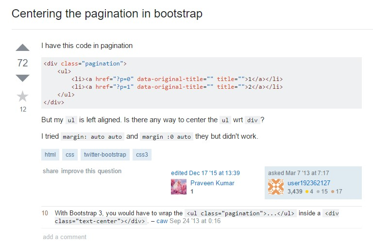 Bootstrap Pagination Responsive