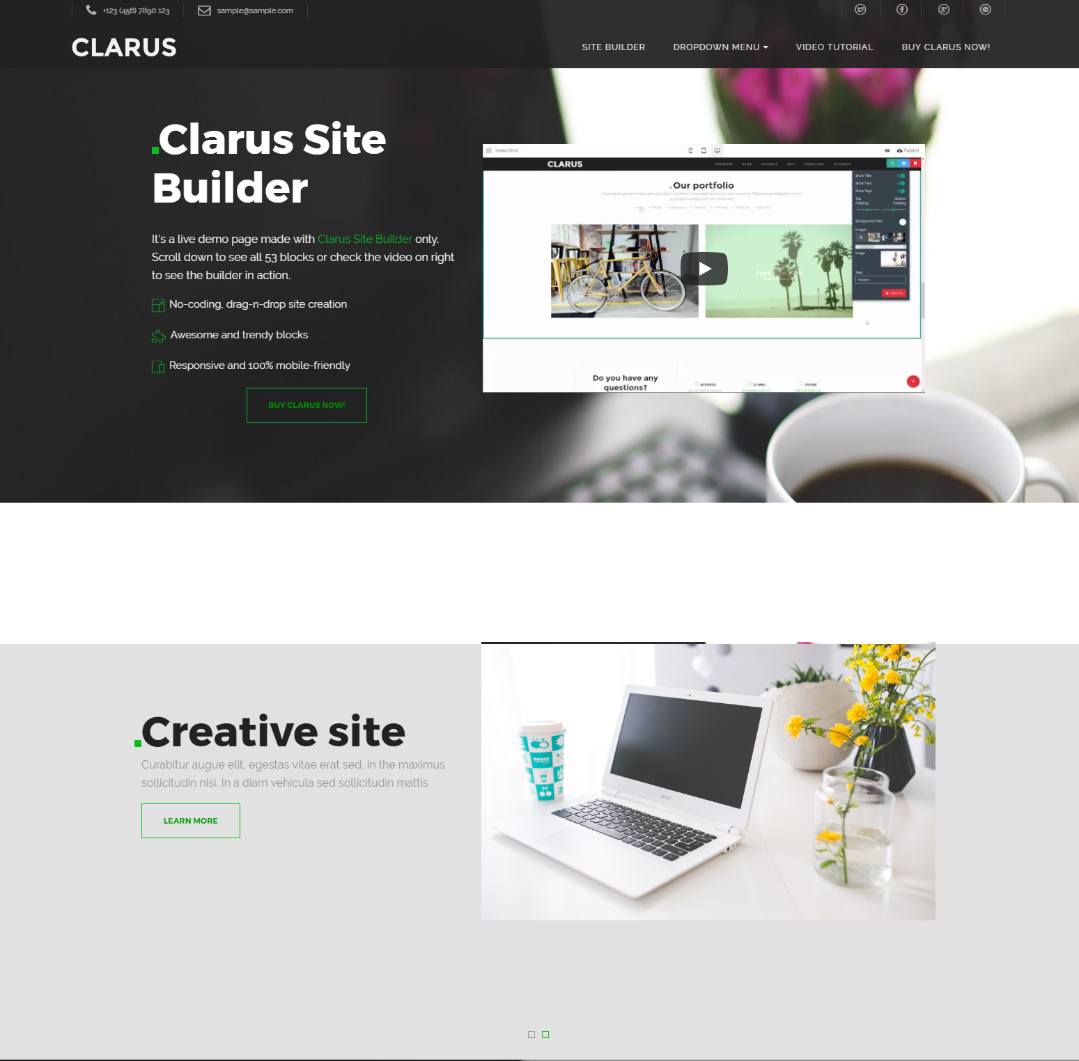 40+ Killer Free HTML Bootstrap Templates 2019