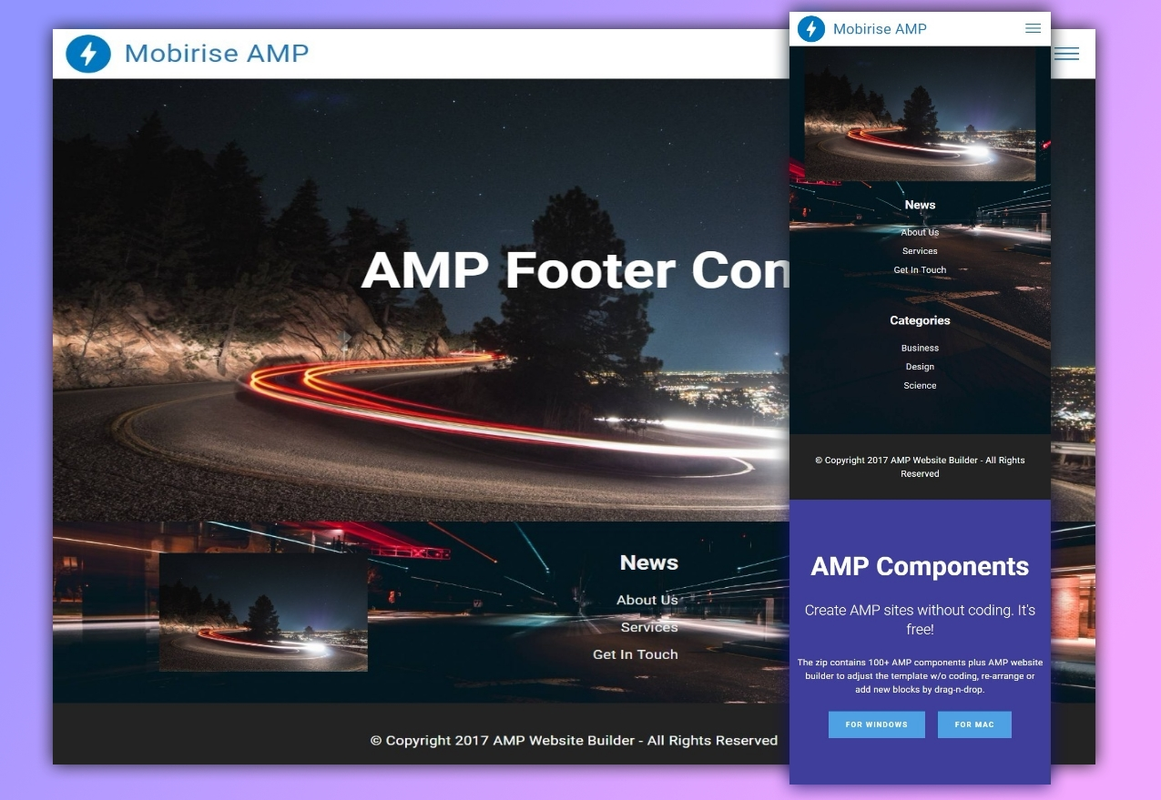 36 Top Innovative And Mobile Friendly Amp Features Templates For 2018
