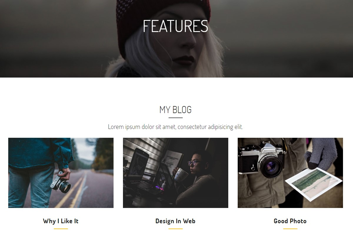 Best 53 Nice and Simple CSS Templates Examples